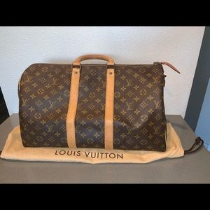 Authentic Louis Vuitton vintage keepall 45 duffle